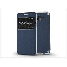 Samsung A310F Galaxy A3 (2016) S-View Flexi oldalra nyíló flipes tok - kék tok és táska