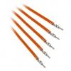 Bitfénix Bitfenix Alchemy 2.0 PSU kábel 5x60cm - narancssárga