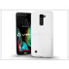 LG K10 K420N szilikon hátlap - Jelly Bright 0,3 mm - fehér