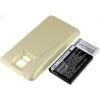 Powery Utángyártott akku Samsung Galaxy S5 arany 5600mAh
