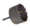 EXTOL PREMIUM EXTOL körkivágó téglához, SDS befogás; 80 mm, 100mm hosszúságú szár barkácsgép tartozék