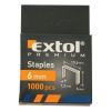 EXTOL PREMIUM EXTOL tűzőgépkapocs profi (10,6×0,52×1,2mm) ; 6mm, 1000db
