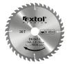EXTOL PREMIUM EXTOL körfűrészlap, keményfémlapkás, 140×16mm(lyuk átm), T30; 2,8mm lapkaszélesség, max. 9000 ford/perc fűrészlap