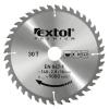 EXTOL PREMIUM EXTOL körfűrészlap, keményfémlapkás, 250×30mm(lyuk átm), T40; 3,2mm lapkaszélesség, max. 6500 ford/perc