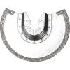 EXTOL PREMIUM EXTOL tartalék körszegmens vágófej, 88mm,417200 és 417220-hez, gyémánt szemcse, használható: habarcs, kerámia, csempe,üvegszál