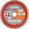 EXTOL PREMIUM EXTOL gyémántvágó TURBO gránit/kerámia; 230×22,2mm, max.6.650 ford/perc