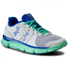 Under Armour Félcipő UNDER ARMOUR - Ua W Micro G Speed Swift 1266243-100 Wht/Anf/Ubl