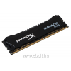 Kingston HyperX Savage Black 8GB 2666MHz DDR4 memória CL13 XMP