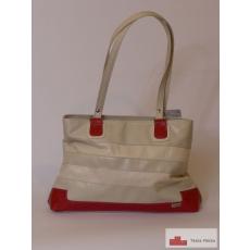 135 Skin & Skin rostbőr női táska lazac beige fehér