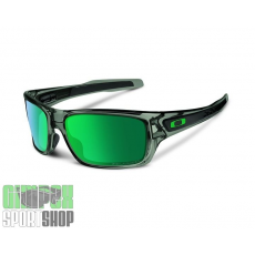 OAKLEY Turbine Gray Smoke Jade Iridium Polarized