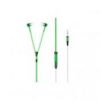 Headset HF -ZIPPER- 3,5 mm GREEN