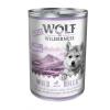 Wolf of Wilderness Little Wolf of Wilderness 6 x 400 g - Blue River Junior - csirke & lazac