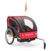 DURAMAXX Kool and the Gang gyermekszállító kerékpár utánfutó, 2 ülés, max. 20 kg