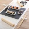 Sushi Készlet Pala Tálcával (11 darabos)