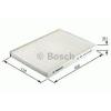 Bosch 1987432392 Aktívszenes Pollenszűrő MAZDA 2, MAZDA 6