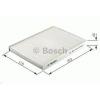 Bosch 1987432434 Aktívszenes pollenszűrő MITSUBISHI COLT, SMART (MCC) FORFOUR, SMART ROADSTER