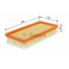 Bosch 1457433156 Levegőszűrő ALFA 147, GT