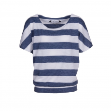 Fundango Modena Stripe T-shirt,top D (2TO109_486-moonlight heather)