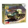Zvezda Soviet Tank T-26 tank makett Zvezda 6113