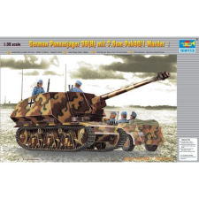 TRUMPETER German Panzerjager39(H)75mm Marder I makett Trumpeter 00354 makett figura