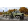 TRUMPETER Russian URAL-375D katonai teherautó makett trumpeter 01027