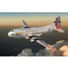 Douglas C-124A Globemaster II repülő makett Roden 306
