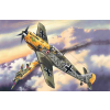ICM Messerschmitt Bf 109E-4 katonai repülő makett ICM 72132