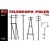 MiniArt Telegraph Poles dioráma kiegészítő makett Miniart 35541a