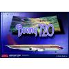 Boeing 720 Starship One repülő makett Roden 314