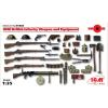 ICM WWI British Infantry Weapons and Equipment figura makett ICM 35683