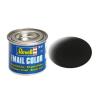 Black mat makett festék Revell 32108