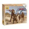 Zvezda British Infantry 1939-1945 figura makett Zvezda 6166