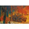 Sdkfz 234.4 katonai jármű makett Roden 709