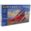 Revell - Fokker Dr.I Triplane repülő makett revell 4682