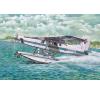 Pilatus PC-6 B2 H4 Turbo Porter Floatplane repülő makett Roden 445 makett figura