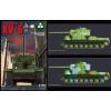 Takom Soviet Super Heavy tank KV-5 tank harcjármű makett Takom 2006