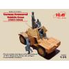 ICM German Armoured Vehicle Crew figura makett ICM 35614
