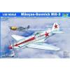TRUMPETER Mikoyan-Gurevich MiG-3 katonai repülő makett trumpeter 02230