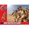WWII British 8th Army figura makett Airfix A02707