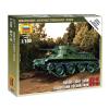 Zvezda Soviet Light Tank BT-5 tank makett Zvezda 6129