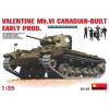 MiniArt VALENTINE Mk. VI CANADIAN - BUILT EARLY PROD. tank harcjármű makett Miniart 35123
