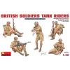 MiniArt British Soldiers Tank Riders figura makett Miniart 35071