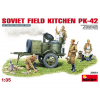 MiniArt SOVIET FIELD KITCHEN PK-42 figura makett Miniart 35061