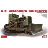 MiniArt U.S.Armoured Buldozer katonai jármű makett Miniart 35188