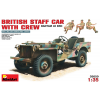MiniArt BRITISH STAFF CAR w/CREW makett MiniArt 35050