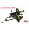 ICM Soiviet Maxim Machine Gun(1910/30) Maxim géppuska figura makett ICM 35675