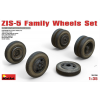 MiniArt ZIS-5 Family Wheels Set katonai jármű makett Miniart 35196