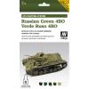 Vallejo Russian Green 4BO AFV paint set orosz 4BO zöldhöz festékes szett vallejo 78403