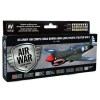 Vallejo US Army Air Corps China-Burma-India Pacific festék szett Vallejo 71184