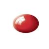 Aqua fiery red gloss makett festék Revell 36131